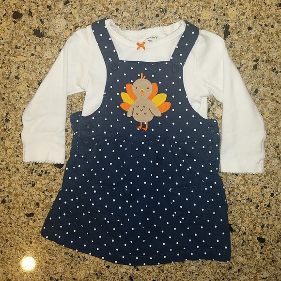 039ef098d Carter's Matching Sets | Carters Baby Girl Thanksgiving Outfit Sz 18 ...